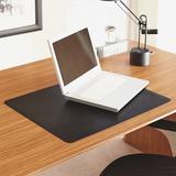 "Lorell Bio-based Black Desk Pad - 24"" Width x 19"" Depth - Black LLR39655"
