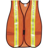MCSCRWV201R - Crews Reflective Fluorescent Safety Vest
