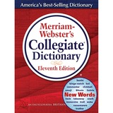 Merriam-Webster 11th Ed. Collegiate Dictionary Dictionary Printed/Electronic Book - English