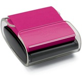 Post-it® Pop-up Notes Super Sticky Pop-Up Notes Wrap Dispenser, 3 x 3, Black/Clear MMMWD330BK