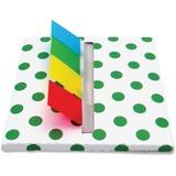 Redi-Tag Designer Flag Desk Dispenser - Holds 140 Flags - Assorted RTG75010