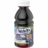Welch's 100% Grape Juice - Grape Flavor - 10 fl oz - 24 / Carton WEL35400