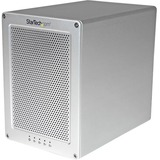 StarTech.com Thunderbolt 2 Quad Bay Hard Drive RAID Enclosure with Thunderbolt Cable - 4-Bay 3.5in HDD RAID Enclosure with Fan