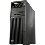 HP Z640 Convertible Mini-tower Workstation - 2 x Processors Supported - 1 x Intel Xeon E5-2630 v3 Octa-core (8 Core) 2.40 GHz - Black, Brushed Aluminum