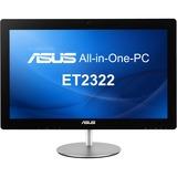 Asus ET2322IUTH-C2 All-in-One Computer - Intel Core i3 i3-4010U 1.70 GHz - Desktop - Black