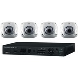 Interlogix 4-Channel w/4 Wedge Cameras Kit