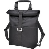 "Acco Carrying Case (Backpack) for 14.4"" Notebook, Tablet PC, Key, Wallet, Accessories, Smartphone - Black"
