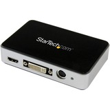 StarTech.com HDMI Video Capture Device - 1080p - 60fps Game Capture Card - USB Video Capture Card - with HDMI DVI VGA