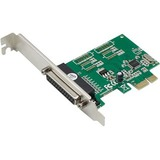 AddOn Industry Standard Comparable Single Open DB-25 Port PCIe x1 Host Bus Adapter