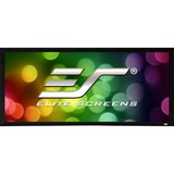 "Elite Screens SableFrame ER110WH2 Fixed Frame Projection Screen - 110"" - 16:9 - Wall Mount"