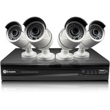 Swann NVR8-7300 8 Channel 3MP Network Video Recorder & 4 x NHD-815 3MP Cameras