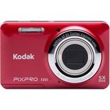 Kodak PIXPRO FZ51 16.2 Megapixel Compact Camera - Red