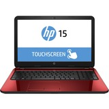 "HP TouchSmart 15-g200 15-g221ca 15.6"" Touchscreen LED Notebook - AMD A-Series A6-5200 Quad-core (4 Core) 2 GHz - Flyer Red"