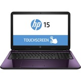 "HP TouchSmart 15-g200 15-g222ca 15.6"" Touchscreen LED Notebook - AMD A-Series A6-5200 Quad-core (4 Core) 2 GHz - Regal Purple"