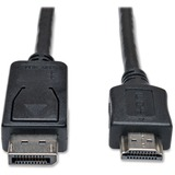 TRPP582003 - Tripp Lite 3ft DisplayPort to HDMI Cab...