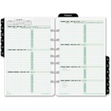 Day-Timer 2PPW Bilingual Planner Pages