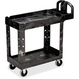 Rubbermaid Flat Shelf Utility Cart