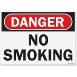 U.S. Stamp & Sign OSHA Danger No Smoking Sign