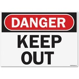 U.S. Stamp & Sign OSHA Danger Keep Out Safety Sign