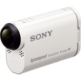 Sony HDR-AS200V Digital Camcorder - Exmor R CMOS - Full HD - White