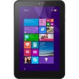 "HP Pro Tablet 408 G1 64 GB Net-tablet PC - 8"" - In-plane Switching (IPS) Technology - Wireless LAN - Intel Atom Z3736F Quad-core (4 Core) 1.33 GHz - Graphite Black - 2 GB DDR3L SDRAM RAM - Windows 8.1 Pro 32-bit - Slate - 1280 x 800 Multi-touch Screen 16:10 Display - Bluetooth - GPS - 1 x Total Micro USB Ports - Front Camera/Webcam - 8 Megapixel Rear Camera"