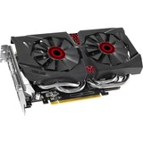Asus Strix STRIX-GTX960-DC2OC-2GD5 GeForce GTX 960 Graphic Card - 1.25 GHz Core - 1.32 GHz Boost Clock - 2 GB GDDR5 SDRAM - PCI Express 3.0 - Dual Slot Space Required