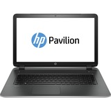 """HP Pavilion 17-f200 17-f230ca 17.3"""" LED (BrightView) Notebook - Intel Pentium N3540 Quad-core (4 Core) 2.16 GHz - Natural Silver, Ash Silver"""