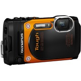 Olympus Stylus Tough TG-860 16 Megapixel Compact Camera - Orange