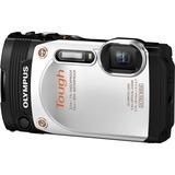 Olympus Stylus Tough TG-860 16 Megapixel Compact Camera - White