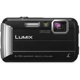 "Panasonic Lumix TS30 16 Megapixel Compact Camera - Black - 2.7"" LCD - 16:9 - 4x Optical Zoom - 4x -  PANDMCTS30K"