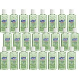 Purell Instant Hand Sanitizer with Aloe - Floral Scent - 4 fl oz (118.3 mL) - Squeeze Bottle Dispens GOJ963124CT