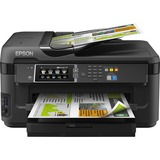 Epson WorkForce WF-7610 Inkjet Multifunction Printer - Refurbished - Color - Plain Paper Print - Desktop