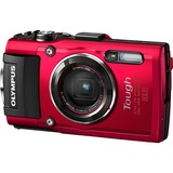 Olympus Tough TG-4 16 Megapixel Compact Camera - Red