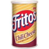 Frito Chili Cheese Corn Chips - Chili Cheese, Corn - Canister - 5.50 oz - 12 / Carton FRT07407