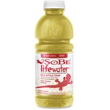 Sobe Lifewater Fuji Apple Bottled Beverage - Fuji Apple Pear Flavor - 20 fl oz - Bottle - 12 / Carto PEP108927