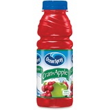 Ocean Spray Bottled Cran-Apple Juice Drink - Cranberry, Apple Flavor - 15.20 fl oz - Bottle - 12 / C PEP141704
