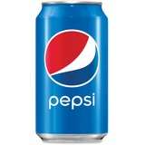 Pepsi Cola Canned Soda - Soda, Cola Flavor - 12 fl oz - Can - 24 / Carton PEP16788