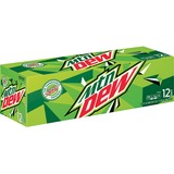 Mountain Dew 12-oz Cans - Soda Flavor - 12 fl oz - Can - 24 / Carton PEP83776