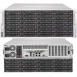Supermicro SSG-6048R-E1CR36H 4U Xeon 2XLGA2011 DDR4 ECC 36SATA/SAS LSI 3108 7PCIE IPMI 1280W 1+1