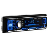 BOSS AUDIO 611UAB Single-DIN MECH-LESS Multimedia Player (no CD or DVD), Receiver, Bluetooth - Plays | MP3/USB/SD