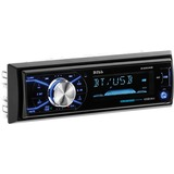 BOSS AUDIO 632UAB Single-DIN MECH-LESS Multimedia Player (no CD or DVD), Receiver, Bluetooth, Detachable Front Panel, Wireless Remote - Plays | MP3/USB/SD