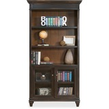 MRTIMHF4078D - Kathy Ireland Hartford Bookcase with Lower Doo...