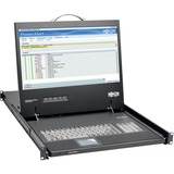 "Tripp Lite 1U Rack-Mount Console with 19"" LCD, DVI or VGA"