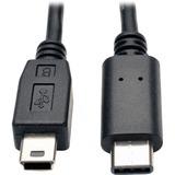 TRPU040006MINI - Tripp Lite 6ft USB 2.0 Hi-Speed Cable 5-Pin Mi...