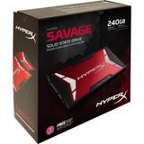 "Kingston HyperX Savage 240 GB 2.5"" Internal Solid State Drive - SATA"
