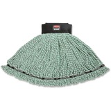 Rubbermaid® Commercial Maximizer Microfiber Mop Heads, Large, Green, 6/Carton RCP1924814