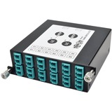 Tripp Lite 40Gb to 10Gb Breakout Cassette, (x2) 12-Fiber MTP/MPO to ( x12 ) LC Duplex