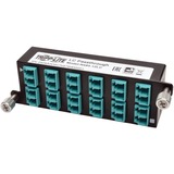Tripp Lite 10GbE Pass-Through Cassette - (x12) LC Duplex