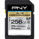 PNY Elite Performance 256 GB Class 10/UHS-I (U3) SDXC