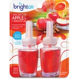 BRIGHT Air® Electric Scented Oil Air Freshener Refill, Macintosh Apple/Cinnamon,2/PK, 6PK/CT BRI900255